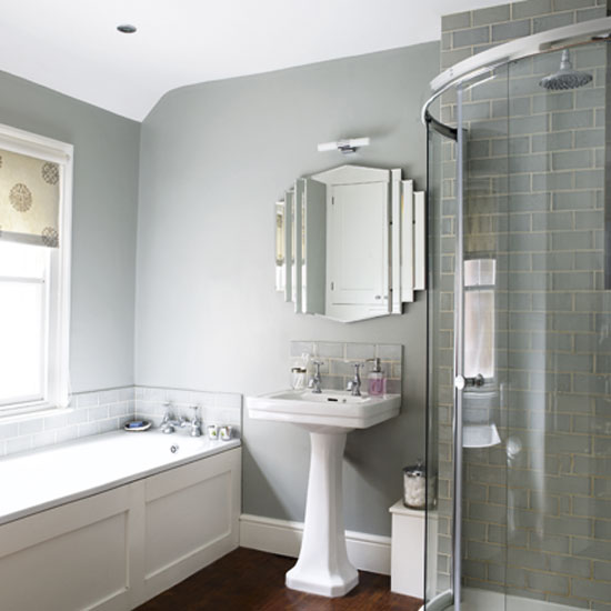 Grey bathroom ideas Photo - 1