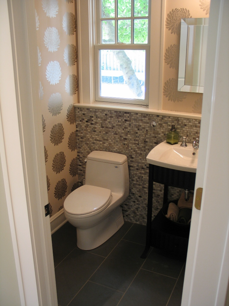 Half Bathroom Design Remodel