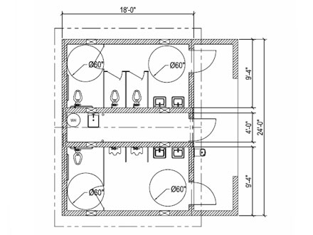 Ada Bathroom Floor Plans - Kraisee.Com