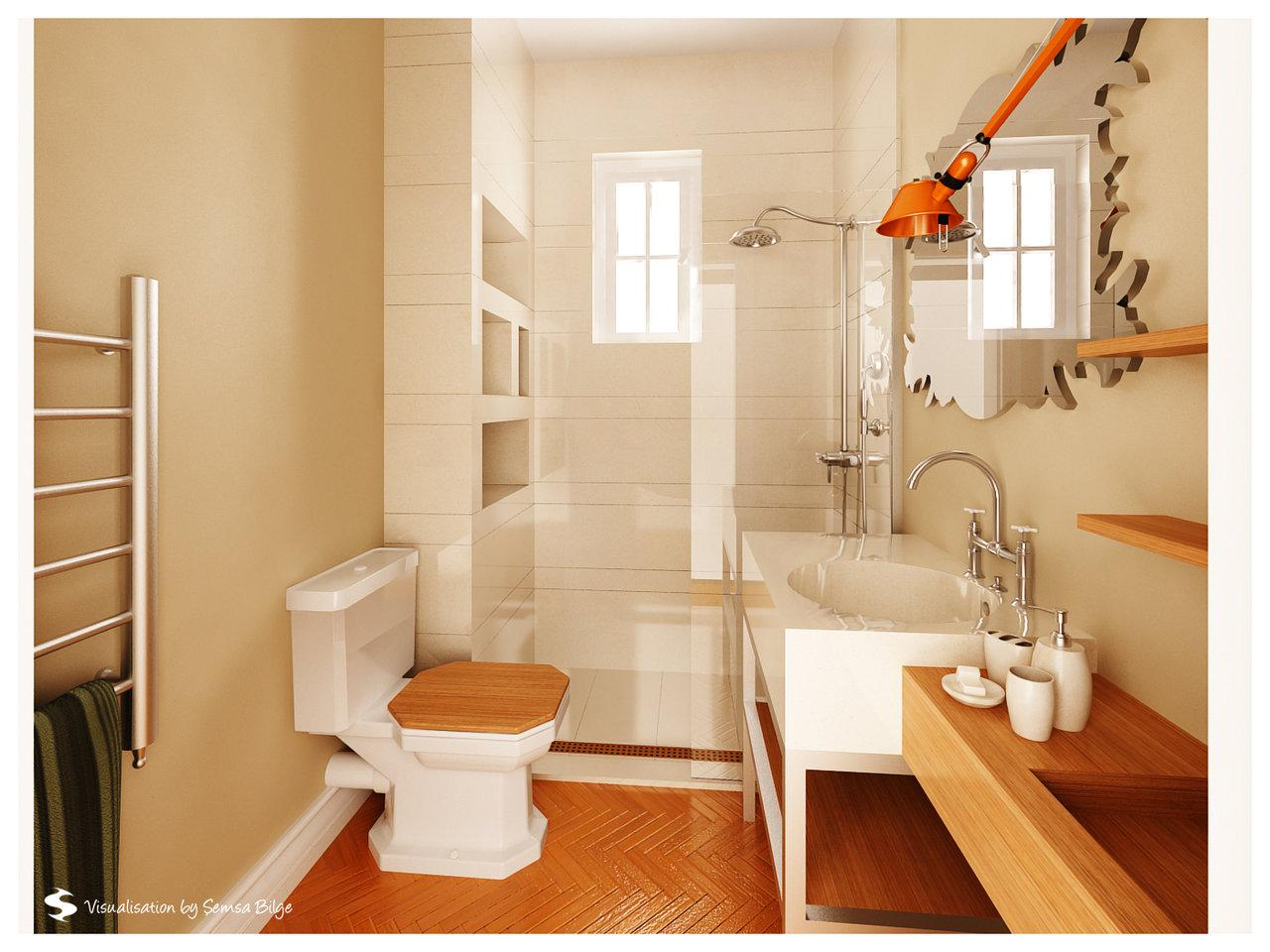 how to decorate bathroom - large and beautiful photos. photo to