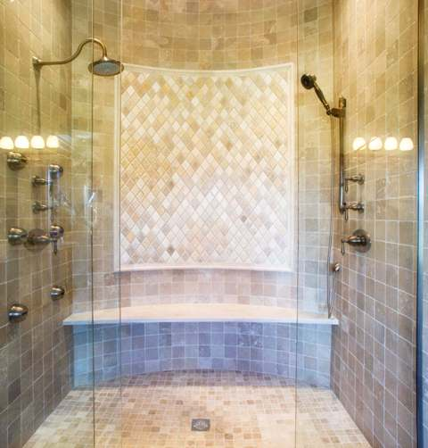 How to lay tile in bathroom