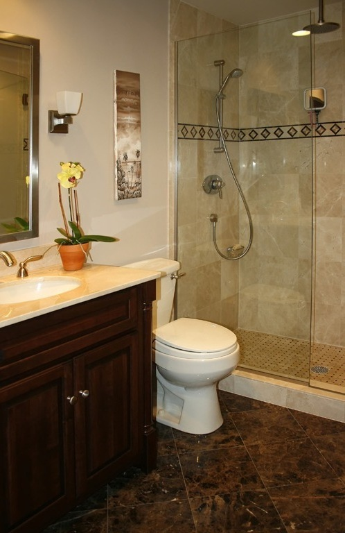 Small bathroom remodel ideas large and beautiful photos for Small bathroom renovations pictures