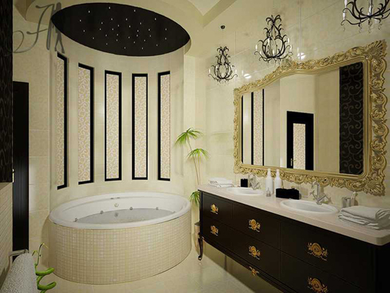 Small Art Deco Bathroom Ideas : Apartment decorations bathroom decorating a small college