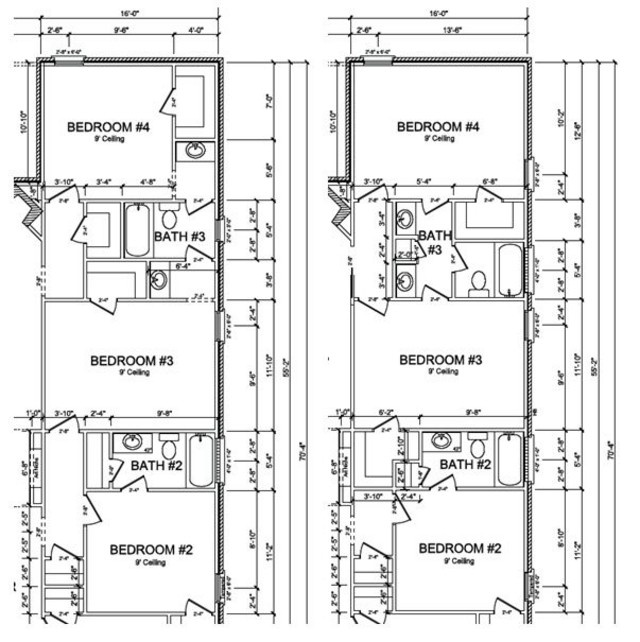 Jack and jill bathroom floor plans photo 4 design your Jack and jill house plans