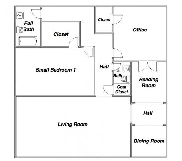 Jack and jill bathroom floor plans photo 6 design your for Home plans with jack and jill bathroom