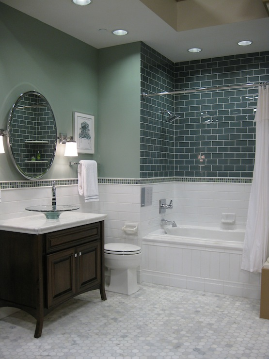 White Marble Tile Bathroom marble tile bathroom - large and beautiful photos. photo to select