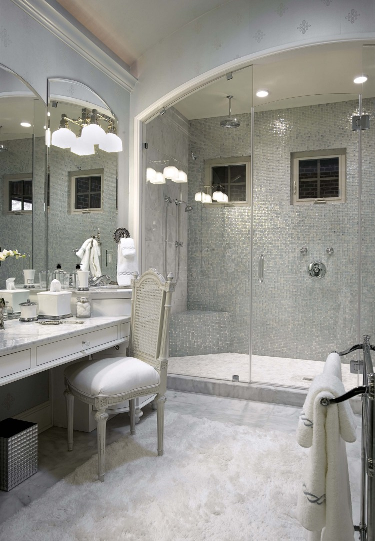 Bathroom marble countertops - large and beautiful photos. Photo to ...