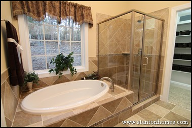 Master bathroom design ideas - large and beautiful photos. Photo ...