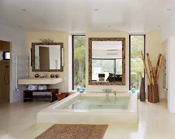 Japanese Style Bathrooms Mediterranean Style Bathrooms