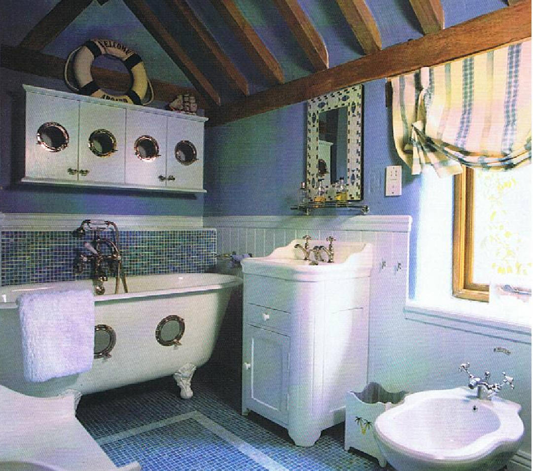 Nautical themed bathroom Nautical bathrooms. Nautical bathroom decor   large and beautiful photos  Photo to