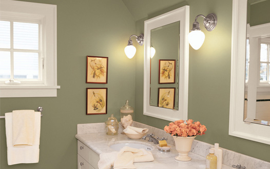 Paint colors for bathroom
