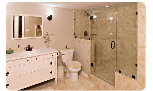Photos of bathroom remodels