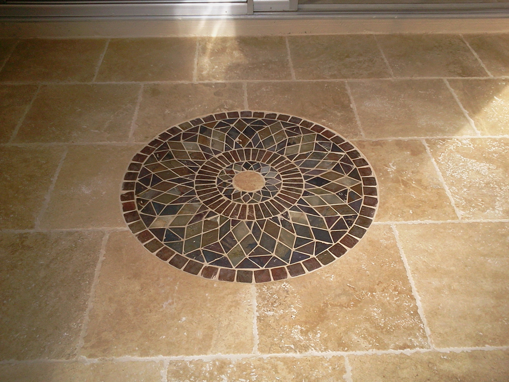 Porcelain Or Ceramic Tile For Bathroom Floor Photo   4