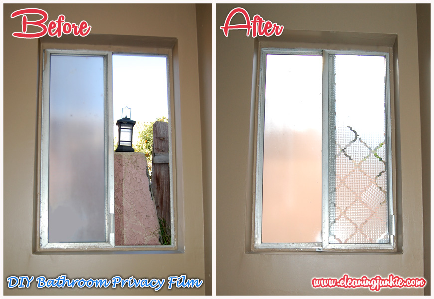 Privacy bathroom windows