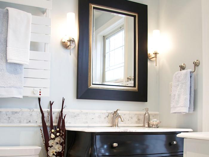Renovating a bathroom ...