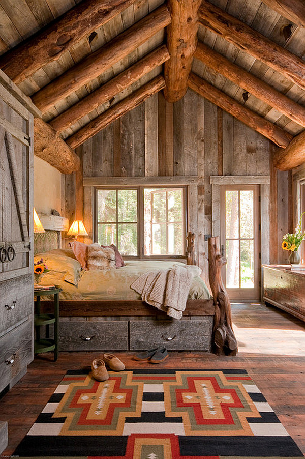 Дизайн в деревенском доме