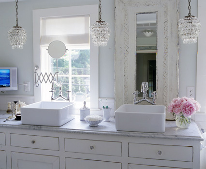 Shabby chic bathroom ideas - large and beautiful photos. Photo to ...