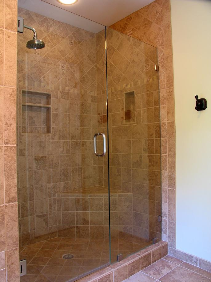 Bathroom Shower Tile Photos small bathroom walk in shower designs - home design