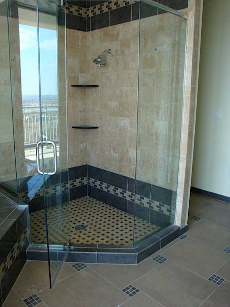 Shower for small bathroom