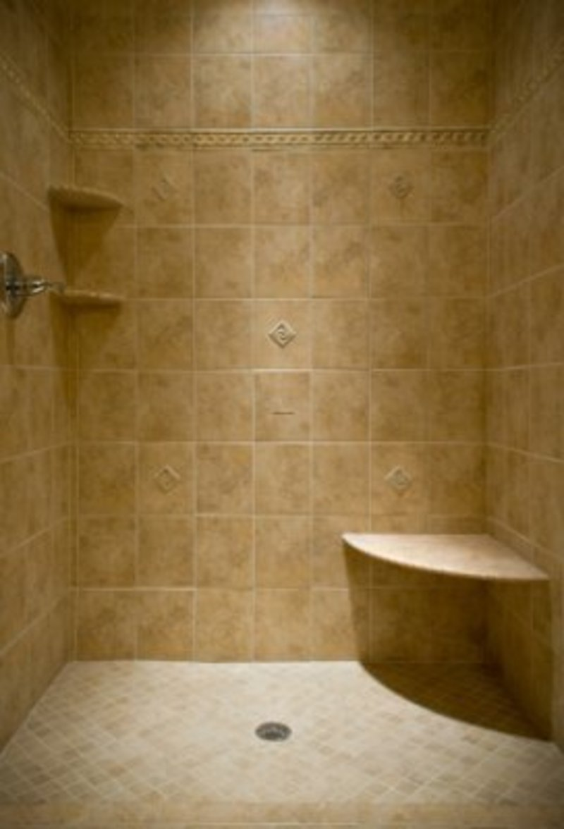 Tile shower ideas for small bathrooms - large and beautiful photos ...