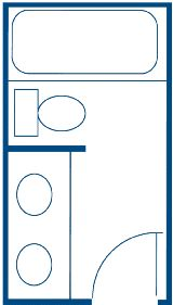 Small bathroom layouts Photo - 1