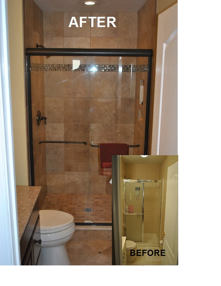 Small Bathroom Remodel Before And After Photo 3 Design Your Home