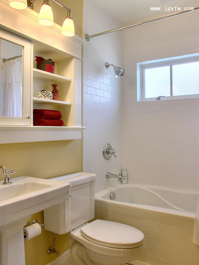 Small bathroom storage Photo - 1