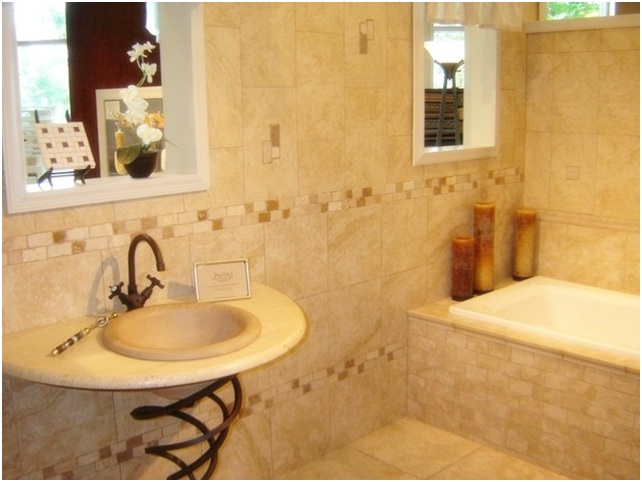 Bathroom Tile Ideas For Small Bathroom Large And