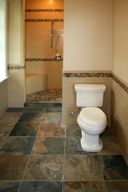 Small bathroom tiles