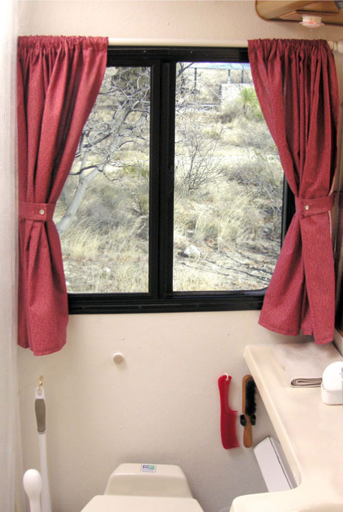 Small Bathroom Window Curtain Ideas Photo   10