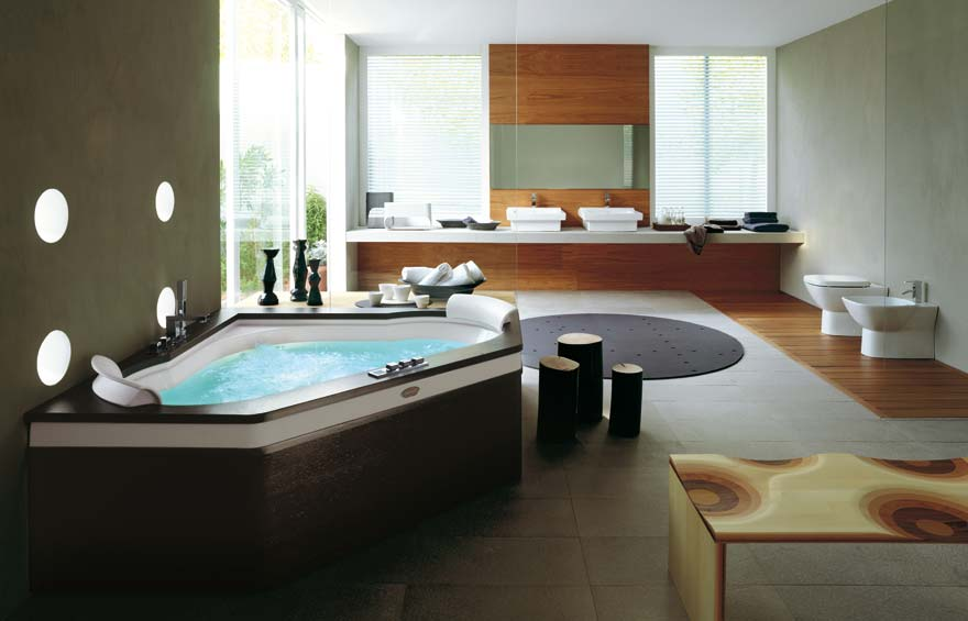 Spa bathroom designs