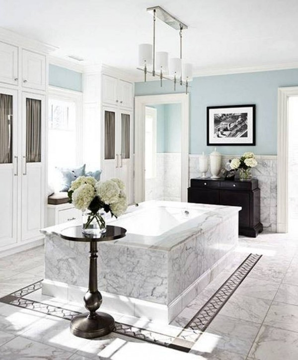 Stylish bathrooms