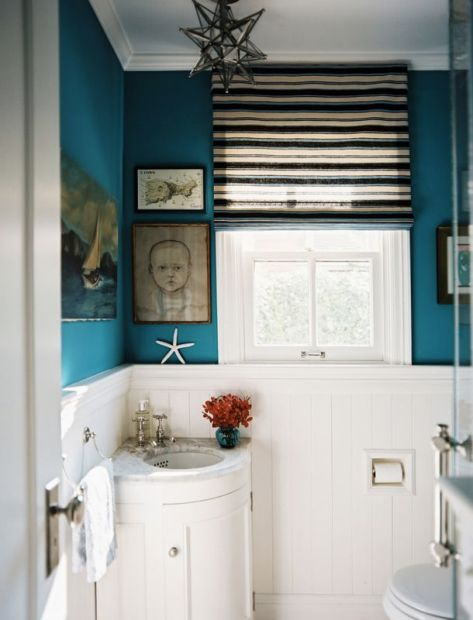 Lovely Teal Bathroom Photo   9