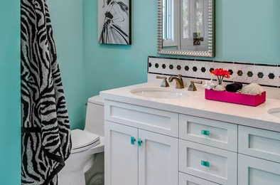Teen girl bathroom ideas