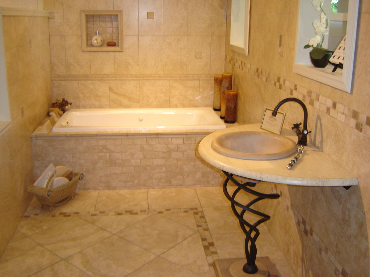Tile designs for bathroom Photo - 1