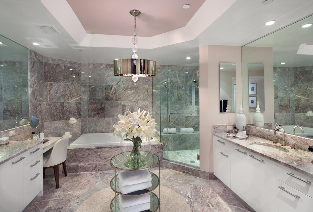 tile designs for bathrooms photo
