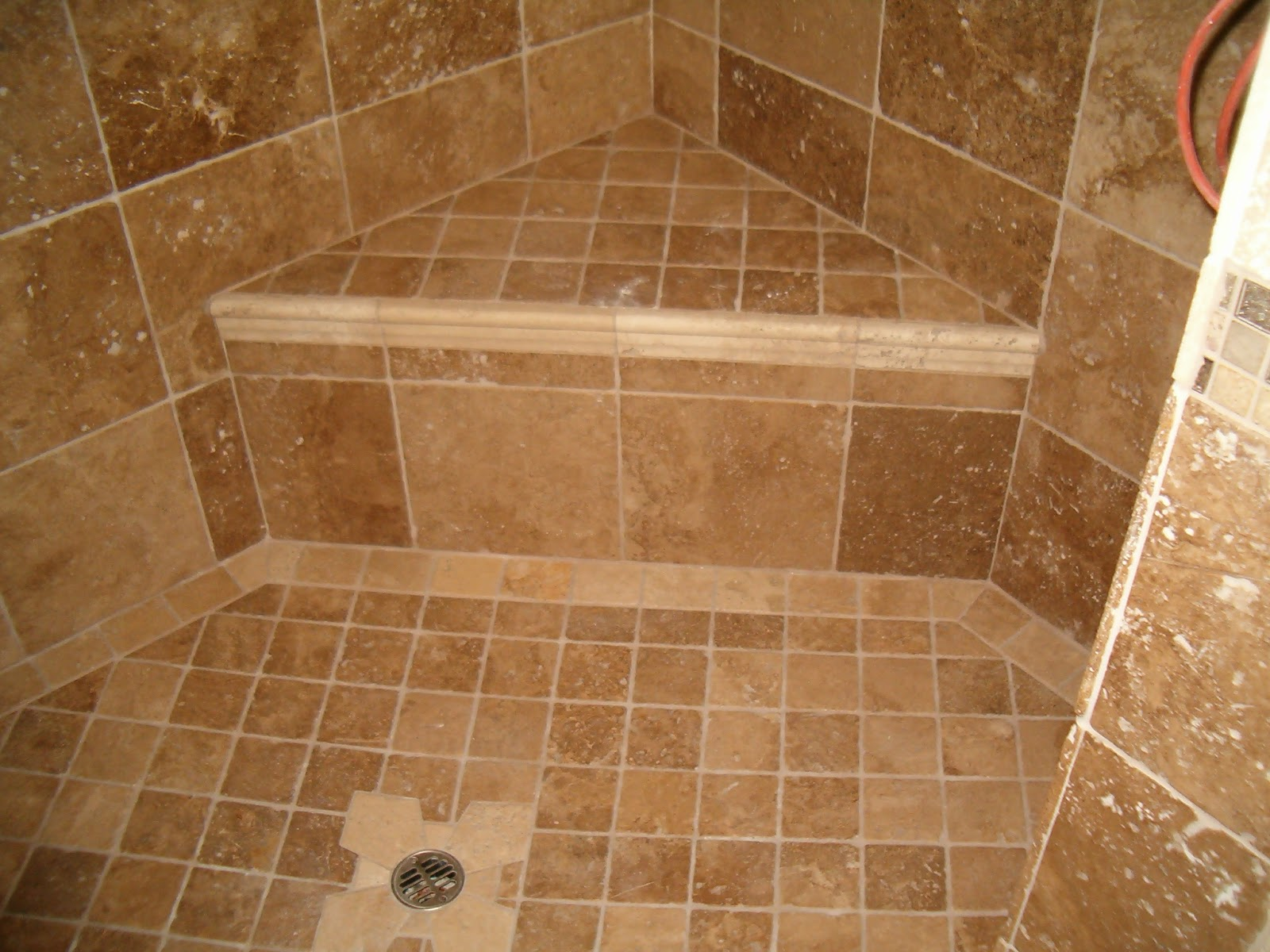 Tiling Bathroom Shower ...