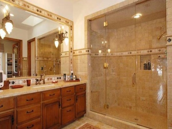 tuscan bathroom vanity tuscan bathroom ideas - Tuscan Bathroom Design