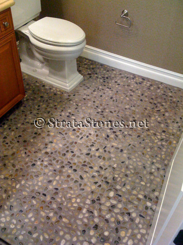 Types of bathroom flooring photo 3 design your home for What type of tile for bathroom floor