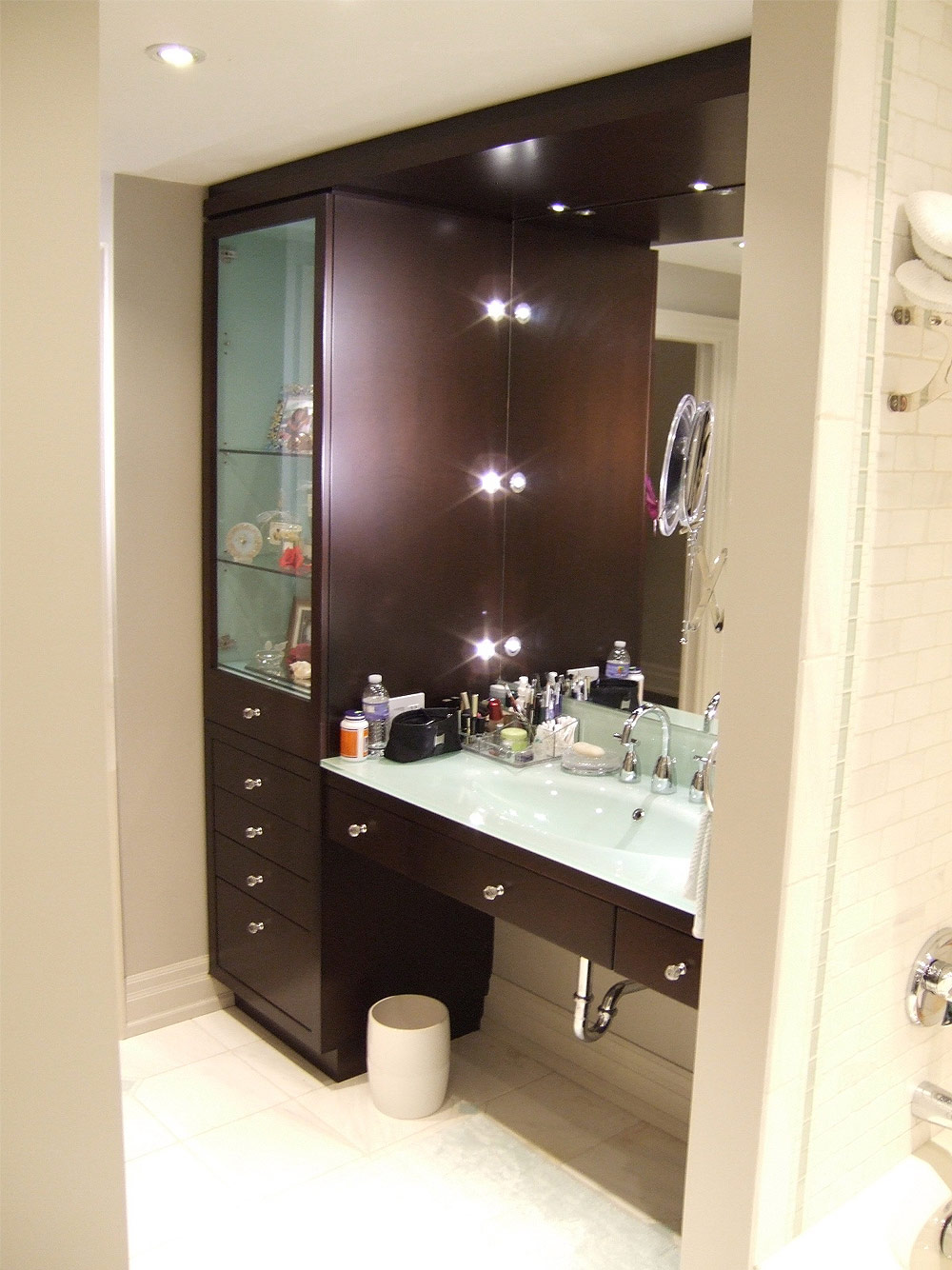 Bathroom Vanities With Makeup Area Large And Beautiful Photos Photo To Select Bathroom