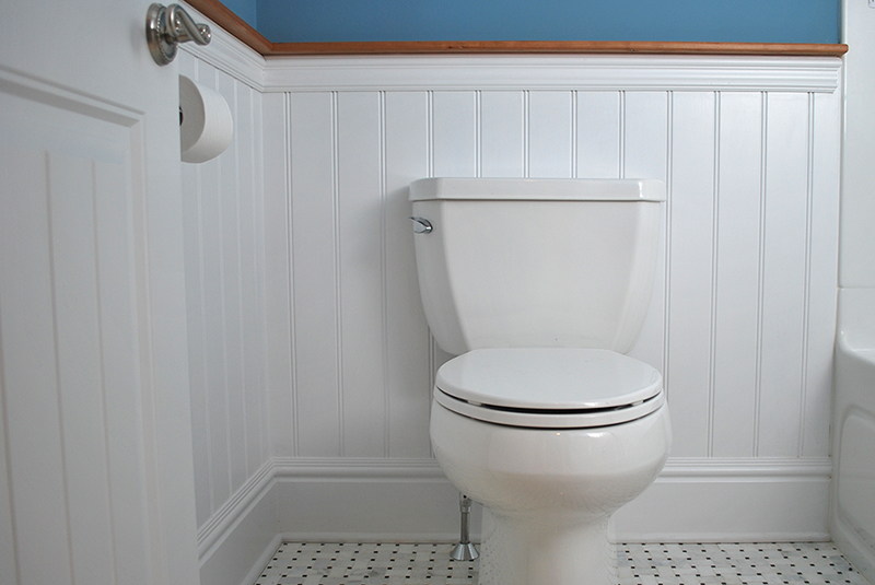 Wainscoting bathroom Photo - 1