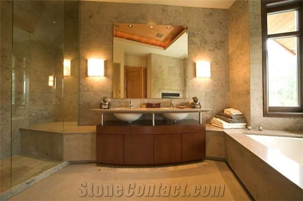 wall coverings for bathrooms photo