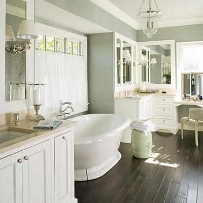 Wood Floor Bathroom | Wood Floor Bathroom Photo 4 Design Your Home