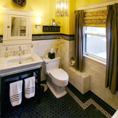 Yellow bathroom ideas large and beautiful photos photo for Bathroom ideas yellow