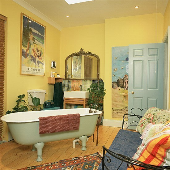 Yellow Bathrooms Yellow Bathroom Yellow Bathroom Ideas ...