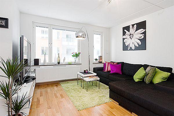 Apartment bedroom decorating Photo - 1