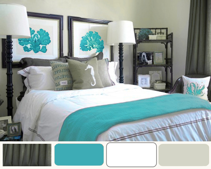 Aqua bedroom ideas Bedroom blue ...