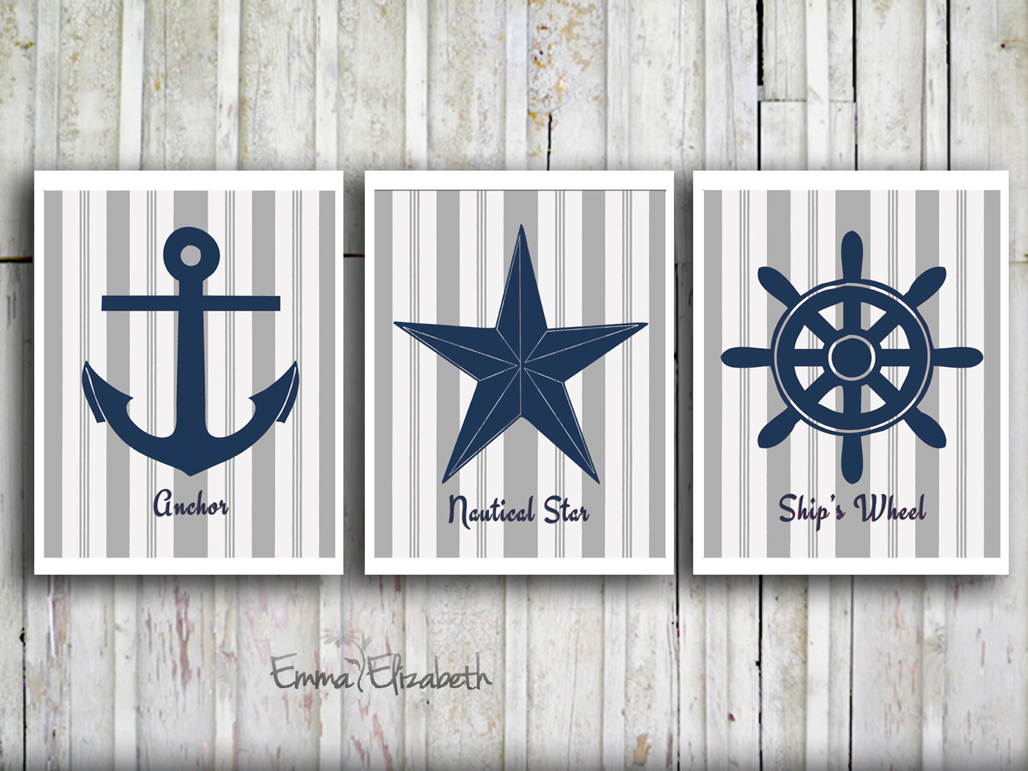 Nautical themed bathroom - Art Themed Bedroom Ideas