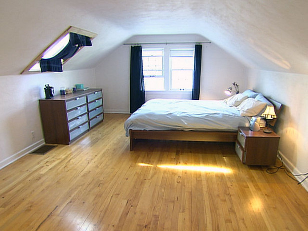 Attic bedrooms ideas Photo - 1