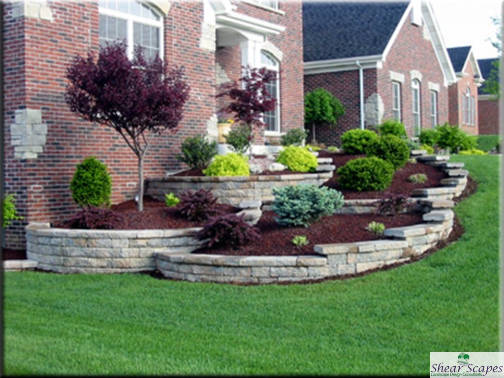 Average cost of landscaping a backyard large and for House backyard landscape
